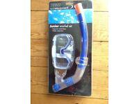 Junior Snorkel Set - never used, still in packaging