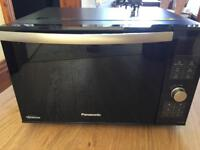 Panasonic DF386 Flatbed Combination Microwave - Black