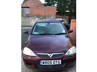 1l corsa 2005 11months MOT - sell soon as possible