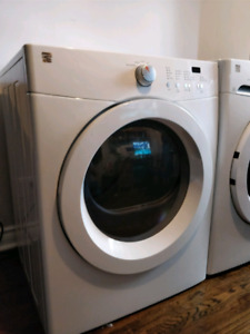 3 year old Kenmore front loading dryer