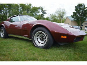 T-Roof 74 Corvette Stingray