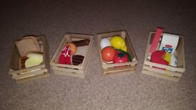 Melissa and Doug Food group wooden toy