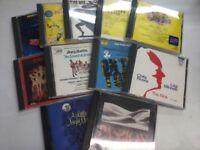 35 ORIGINAL BROADWAY/WEST END MUSICAL CDs
