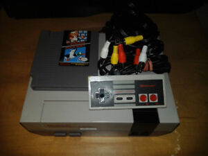 Selling Referbished Nes with 1 game