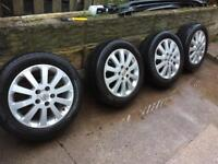 "Vauxhall Zafira elegance. Astra six 5 stud 16"" alloys wheels"
