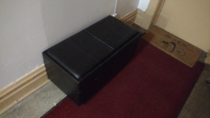 FREE - 2 compartment vinyl coffee table