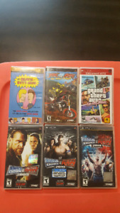 PSP Game Lot - Take all for $10