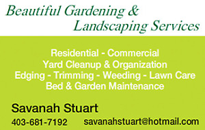 Beautiful Gardening & Landscaping Services