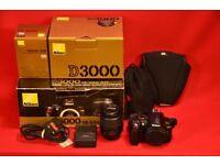 Nikon D3000 with 18-55mm Lens £200