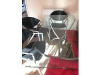 Barker & Stonehouse Glass Table