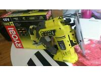 Ryobi One+ R18JS 18v jigsaw Here we have a used Ryobi One+ R18JS 18v jigsaw in good condition ligh