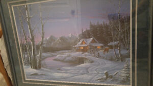 Limited Edition print by Fred Buchwitz - Beautifully FRAMED!!