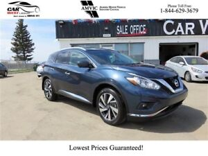 2016 Nissan Murano PLATINUM | FULLY LOADED | MOONROOF | AWD