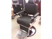 New Boxed Heavy Use Hydraulic Nelson Barber Chairs in UK for sale