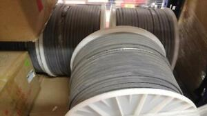 Deicing wire, Chromalox Thermwire melt, 1000' roll, Heat Trace