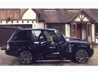 2007 Range Rover Vogue 3.6TDV8 Facelift, Black On Black Hpi Clear