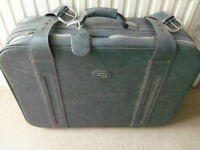 Vintage Airborne large suitcase - wedding theatre shop window prop decoration