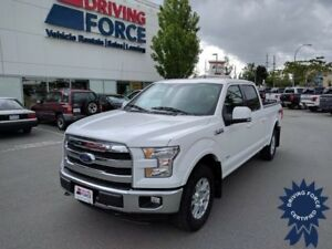 2015 Ford F-150 Lariat Super Crew 4x4 - 58,339 KMs, Short Box