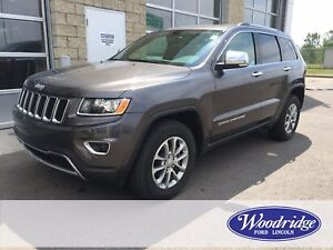 2016 Jeep Grand Cherokee Limited 3.6L V6, 4WD, NAV, NO ACCIDENTS
