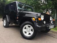 2000/W Jeep Wrangler 4.0 SAHARA Auto, Special Edition, Soft Top/Hard Top