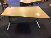 office furniture 1.4 meter radial desk