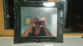 Rococo style boudoir mirror