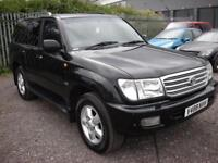 TOYOTA LAND CRUISER AMAZON 4.7 VX 7 SEATER AUTO 232 BHP - GAS CONVERTE (black) 1999