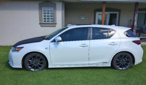 2012 Lexus CT 200h F-SPORT Hatchback