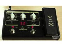 Vox stomplab digital guitar effects unit