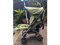 Maclaren Techno Stroller Spitfire Pushchair-Special Edition-RRP £375 w.footmuff