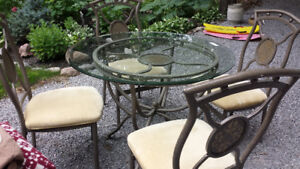 Glass Top Kitchen/Dining/Patio Set