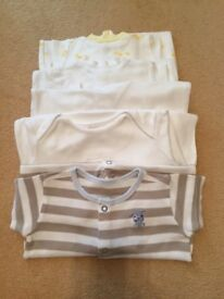 Baby sleep suits (5 items)