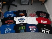 Bundle of boys all brand tshirts immaculate 13-15 years