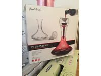 Wine decanter, brand new