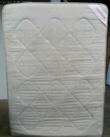 double mattress, 190 x 135cm. In used condition.