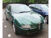 Alfa Romeo 147 T Spark 2 litre 2001