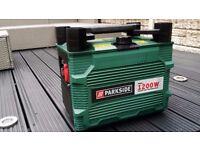 Parkside 1200W 4-stroke OHV Petrol 240V Digital Inverter Portable Generator Tool Fishing Camping Etc