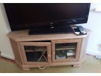MATCHING SIDEBOARD TV CABINET AND DISPLAY CABINET