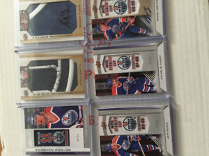 Hockey Cards-Edmonton Oilers Collection