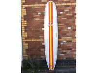 9'6 O'Shea longboard surfboard