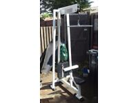 Commercial Lat Pulldown machine - Heavy 100kg stack - Good working order
