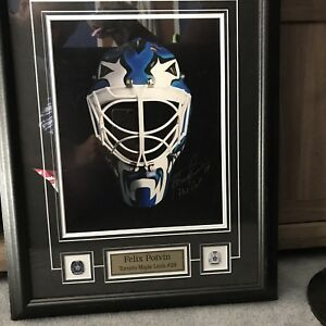 Toronto Maple Leafs signed  Felix Potvin