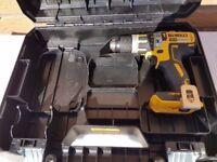 DeWALT DCD795 18V LI-ION XRP BRUSHLESS DRILL BODY ONLY---NEAR NEW---£59.99, makita