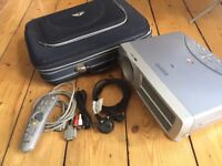 Sanyo XGA data projector with case and accessories