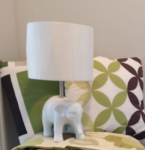 White Elephant Table Lamp Pottery Barn Kids