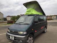 Mazda bongo camper van professional conversion full side kitchen rock roller bed 1 year mot diesel