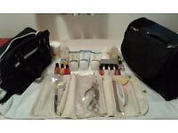 Manicure and pedicure items