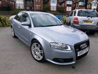 2007 AUDI A4 2.0 TDI 170BHP S LINE SPECIAL EDITION TOP SPEC HEATED LEATHERS BOSE