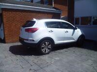 Kia Sportage CDRI 2.0l AWD KX3 Sat Nav