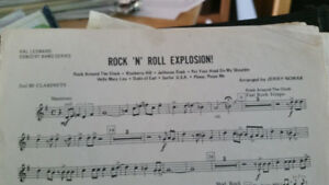 Looking for sheet Music - Rock 'N' Roll Explosion - Arranged by